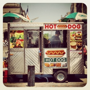 Hot Dog in the City
